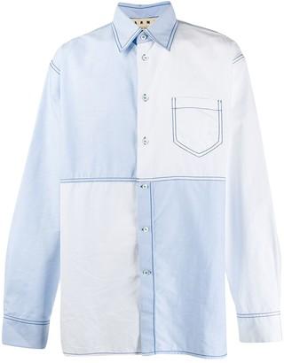 Marni Patchwork Design Shirt