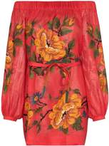Vita Kin Gypsy Queen linen off-the-shoulder dress