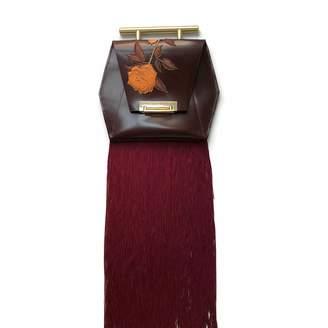 Angela Valentine Handbags English Rose Fringe Clutch
