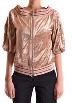 Pinko Women's Beige Modal Sweatshirt.