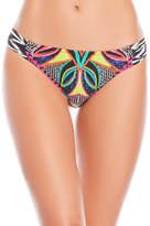 Trina Turk Africana Shirred Bikini Bottom