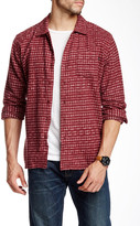 Obey Caster Faded Plaid Trim Fit Shirt