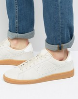 Nike Tennis Classic Suede Trainers In Beige 829351-100