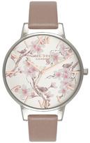 Olivia Burton Parlour Floral Watch