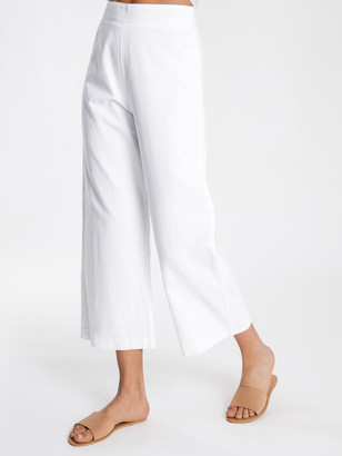 Nude Lucy Selma Wide Leg Pants in White