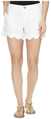 Lilly Pulitzer Buttercup Shorts (Resort White) Women's Shorts