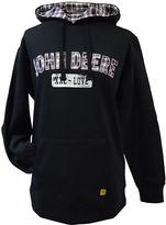 John Deere Black Appliqué Fleece Hoodie - Plus Too