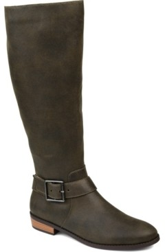 Journee Collection Women's Extra Wide Calf Winona Boot Women's Shoes