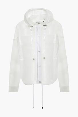 ATM Anthony Thomas Melillo Pvc Hooded Jacket