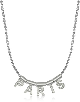 Nomination Sterling Silver and Swarovski Zirconia Paris Necklace