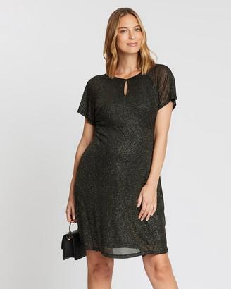 Dp Maternity Maternity Keyhole Dress