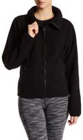 Betsey Johnson Polar Fleece Shawl Collar Jacket