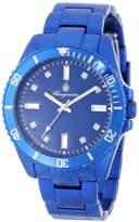 Burgmeister Color Sport Women's Quartz Watch with Blue Dial Analogue Display and Blue Bracelet BM161-090C