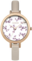 Oasis Floral Printed Watch