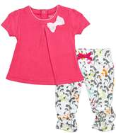 Blue Banana L15472418 I Love Spring Dress and Legging Set
