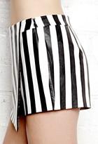 Forever 21 Bold Striped Skort