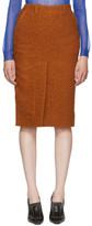 Marni Orange Casentino Skirt