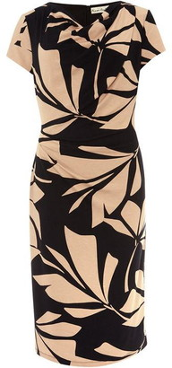 Phase Eight Kadia Palm Print Fitted Dress