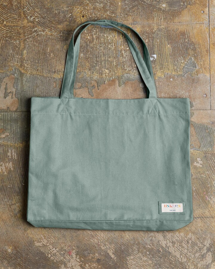 Thumbnail for your product : Uskees - The 4001 Large Organic Tote Bag - Jade