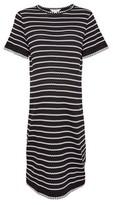Dorothy Perkins Womens Dp Maternity Black Mono Stripe Print Dress, Black