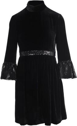 Miu Miu Sequin Embellished Mini Dress