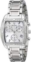 Bulova Women's 96R163 Diamond Bezel Watch