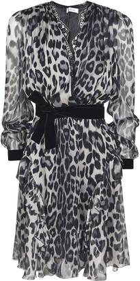 Blumarine Tie-waist Lace Dress