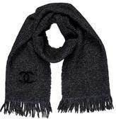 Chanel Knit CC Scarf