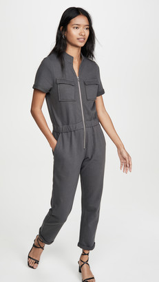 David Lerner Cassie Sweat Jumpsuit