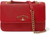 Vivienne Westwood Divina textured-leather shoulder bag