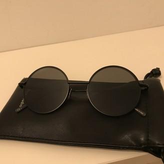 Acne Studios Black Metal Sunglasses
