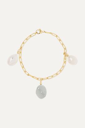 Cvc Stones 18-karat Gold Multi-stone Bracelet - one size