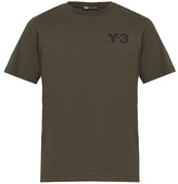 Y-3 Logo-print Cotton T-shirt