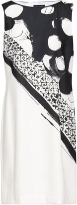 Piazza Sempione Printed Crepe Dress