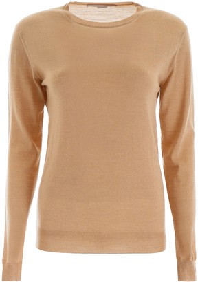 Stella McCartney Fitted Long Sleeve Sweater