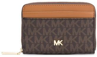 MICHAEL Michael Kors Mercer monogram logo wallet