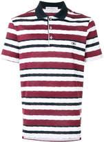 Salvatore Ferragamo striped polo shirt