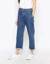 BETHNALS Bethnals Smith Relaxed Boyfriend Jeans With Rolled Hem