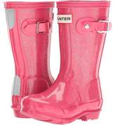 Hunter Original Kids' Glitter Finish Wellington Rain Boots Kids Shoes