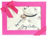 Juicy Couture Baby Knit Scottie Embroidered Boxed Footie Set