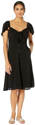 ASTR the Label Rachelle Dress (Black) Women's Dress