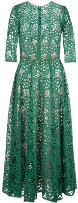 Oscar de la Renta Lace Dress