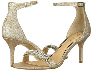 Badgley Mischka Randy (Light Gold) Women's Shoes