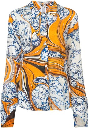 Rosie Assoulin Printed Shirt
