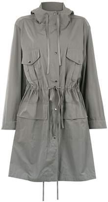 Gloria Coelho Hooded Trench Coat