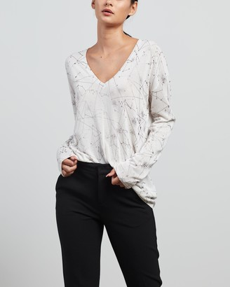 Sass & Bide Women's White Jumpers - Loved By That Knit - Size XS at The Iconic