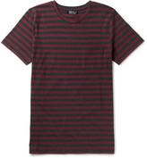A.P.C. Slim-fit Striped Cotton-jersey T-shirt