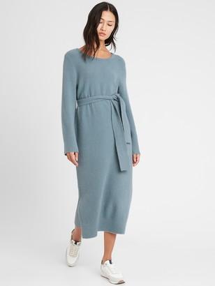 Banana Republic Flare-Sleeve Sweater Dress