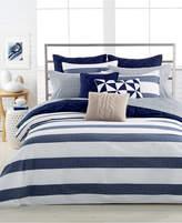 Nautica Home Lawndale Navy Full/Queen Duvet Cover Mini Set Bedding