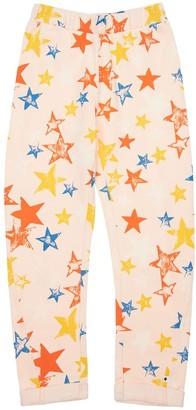 Molo Stars Print Organic Cotton Sweatpants